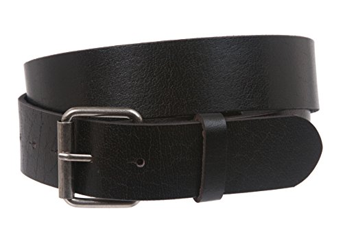 Snap On Oil-tanned One-ply Genuine Leather Belt Color: Black Size: S - 32 (Black Distressed Leather Belt)
