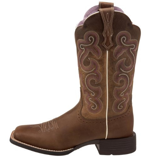 Brown Westernstiefel Badlands Wicker Quickdraw Ariat Wms fTxwnCcS