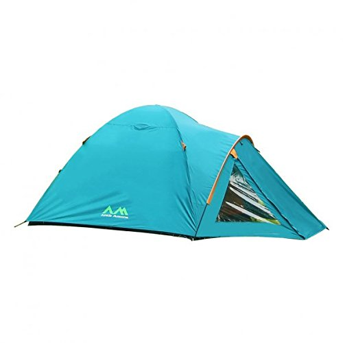 Arctic Monsoon Starry T1 Family Dome Waterproof Camping Tent, Blue