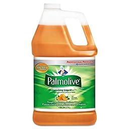 Palmolive Dishwashing Liquid & Hand Soap, Orange Scent, 1 gal Bottle - four 1-gallon bottles per case.