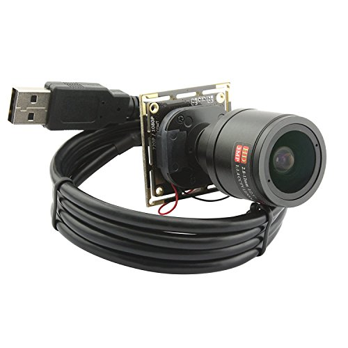 ELP 2.8-12mm Varifocal Lens 2.0megapixel Usb Camera,camera Module Usb for Android Windows Linux and Mac Os