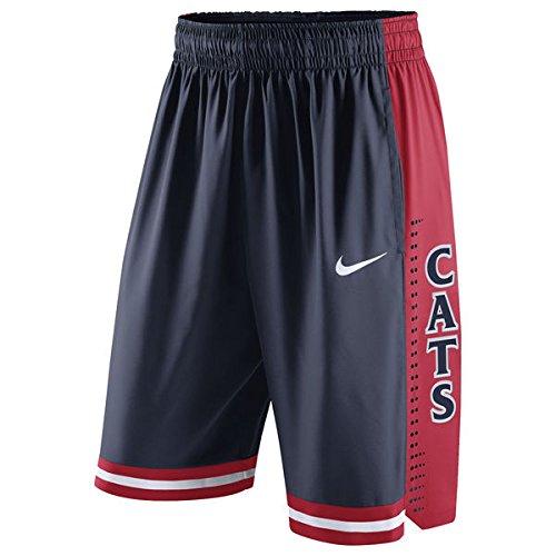 Arizona Wildcats Nike Dri-Fit Authentic Basketball Shorts (Small) (Nike Arizona Wildcats)