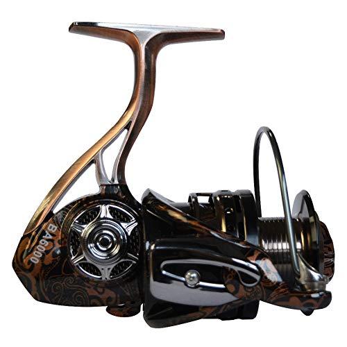 Model-6000  Anddod Fishdrops BA4000 6000 5.5 1 4.7 1 7+1 BB Spinning Fishing Reel Full Metal Body Fishing Wheel