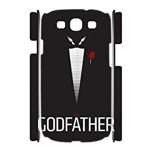 HXYHTY Cover Custom The Godfather Phone 3D Case For Samsung Galaxy S3 I9300 [Pattern-4]