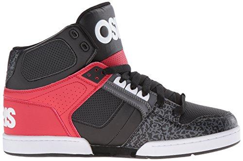 Osiris NYC 83 Uomo Nero Scarpe Skate Blk Whi Grey EU 43 / US 10