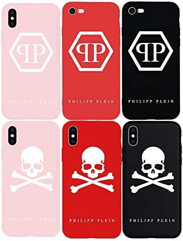 Philipp Plein Soft Silicone TPU Case iPhone X Xs Max XR 7 7 7Plus ...