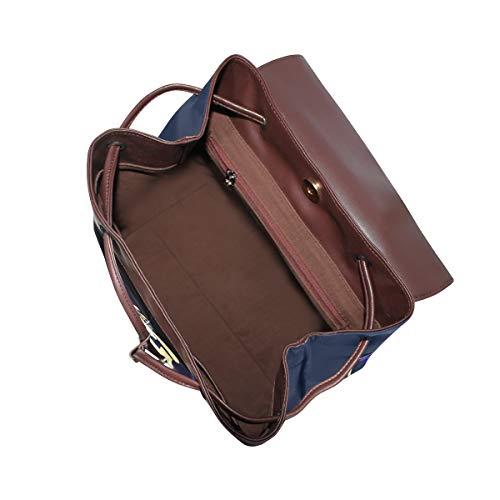 Kvinnor PU-läder liv skalle och ben skelett ryggsäck handväska resa skola axelväska ledig dagväska