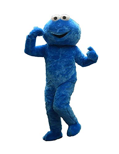 Adult Mascot Costume Parts Accessories for Pink Minnie Mouse Cosplay Character (Cookie Monster) -