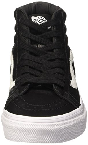 U Vans Reissue Hi Unisex Sk8 Sneakers Leather Black Nero Premium Leather Crqw6drnxP