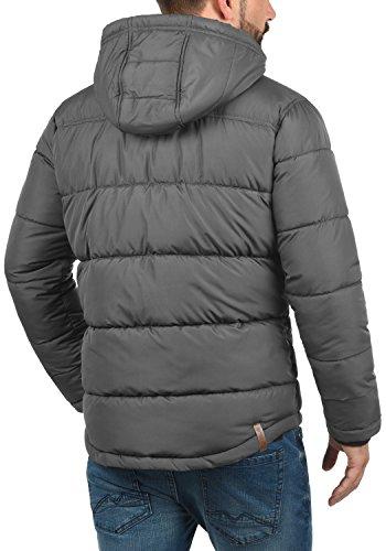 Solid 2890 Dark Denilson Hombre Invierno Grey de para Chaqueta pPawqxpr6
