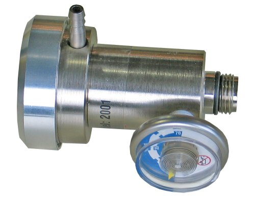 BW Technologies REG-DF-1 Demand Flow Regulator, For Disposable Cylinder from BW Technologies