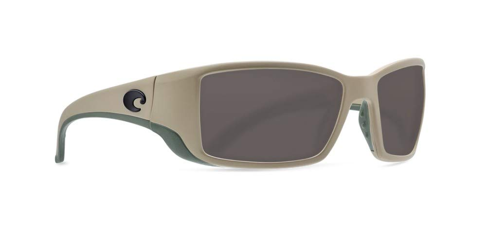 a6b97508b8d Amazon.com  Costa Del Mar Blackfin Sunglasses Matte Sand   Gray 580Plastic   Sports   Outdoors