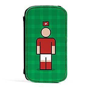 Switzerland Premium Faux PU Leather Case Flip Case for Samsung? Galaxy S3 by Blunt Football International + FREE Crystal Clear Screen Protector