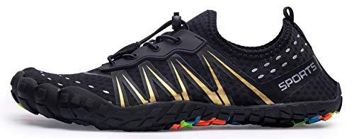 Mens Women Water Sport Shoes Barefoot Quick-Dry Aqua Socks for Beach Swim Surf Yoga Exercise, 11.5 M US Women / 10 M US Men by Z-joyee (Image #2)
