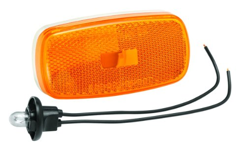 Bargman 34-59-002 #59 Series Amber Clearance/Side Marker Light (002 Series)