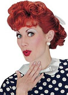 I Love Lucy Costume Ricky (I Love Lucy Wig Costume Accessory)