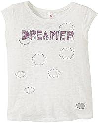 Pink Chicken Little Girl's Billie Graphic Tee (Toddler/Kid) - Dreamer - 2 Years