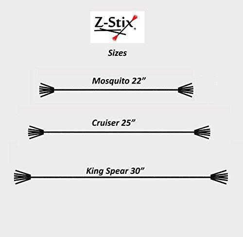 "Z-Stix Made to Order Handmade Juggling Sticks-Flower Sticks-Devil Sticks (Cruiser 27"",Pink Leopard) by Z-Stix (Image #2)"