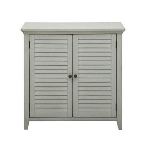 Hooker Bathroom Furniture (Pulaski DS-A042-857 Traditional Louvered Shutter Style Bathroom Storage Cabinet)