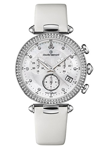 Claude Bernard Ladies-Wristwatch Dress Code Chronograph Date Quarz 10230 3 NAN