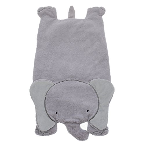 Little Love by NoJo Super Soft Tummy Play Time Mat, Elephant, Gray by NoJo
