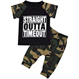 Infant Baby Boy Clothes Short Sleeve Funny...