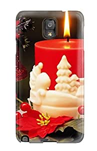 Rugged Skin Case Cover For Galaxy Note 3- Eco-friendly Packaging(holiday Christmas)