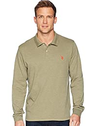 Men's Classic Long Sleeve Interlock Polo Shirt