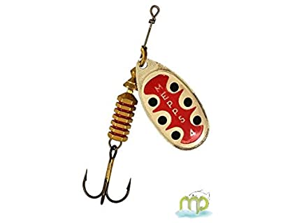 Free UK Post MEPPS AGLIA GOLD SPINNER **ALL SIZES IN STOCK**