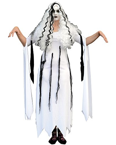 Zombie Costume Rob Girl Living Dead (Trick or Treat Studios Men's Rob Zombie-Living Dead Girl Costume, Multi, One)