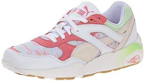 Sneaker Costiera Puma Donna R698 Bianca / Patina Verde