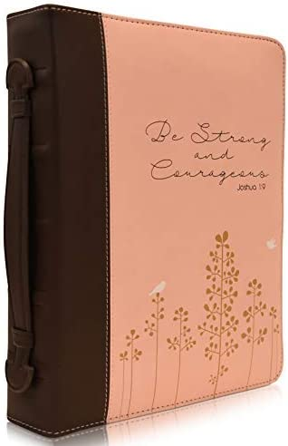 Joshua 1:9 Womens Bible Cover,Be Strong and Courageous