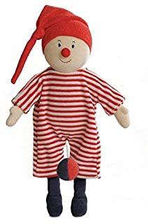 Furnis - 7330 - Toy Musical - Nain De Jardin Musical - Costume Rosso / Bianco