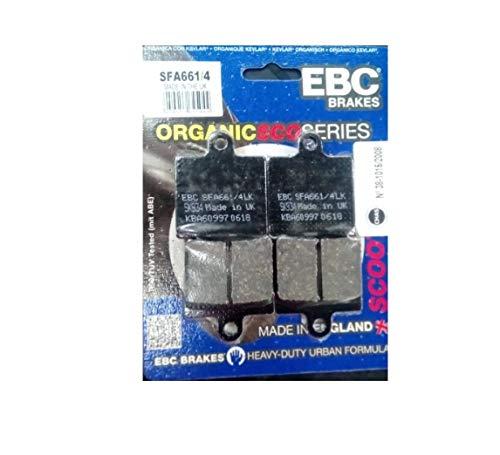 EBC Remblokken SFA661/4 geschikt voor Daelim Freewing Otelli S1 S2 S3 Salsa SN SQ