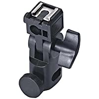 World of Needs Umbrella B-Bracket Flash Light Stand Holder (Black)