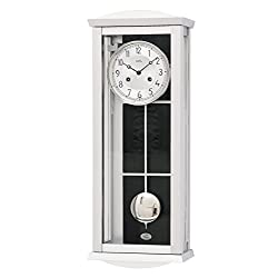 AMS Regulator wall clock with aluminium dial, 14 day running time from