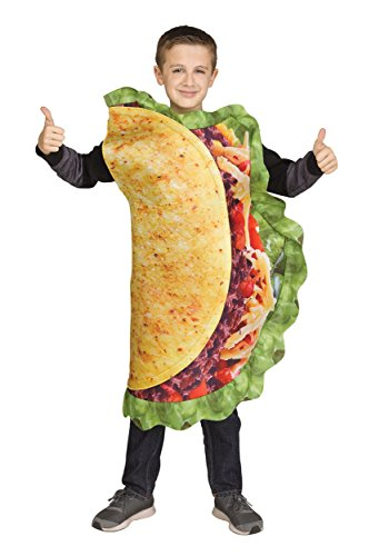 Fun World Taco Costume, One Size, Multicolor -