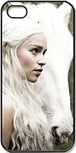 TV Shows Game of Thrones Emilia Clarke Daenerys Targaryen Case for iPhone 5 iPhone 5s