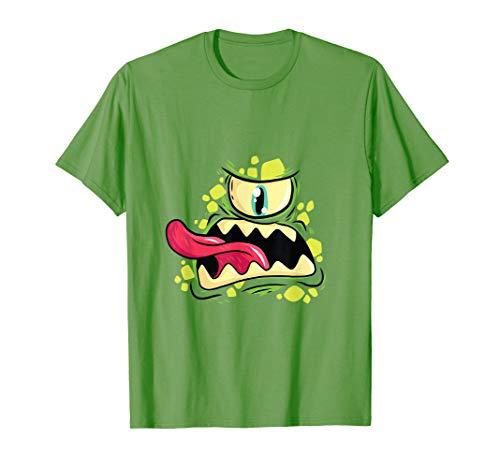 Monster cyclops shirt great gift for children in Halloween T-Shirt]()