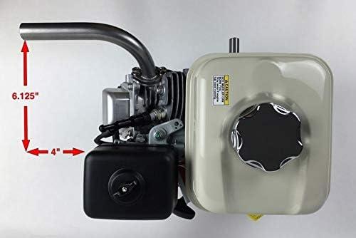 Custom Header Pipe Exhaust Fits HONDA GX160 GX200 GO KART MiniBike Drift Trike