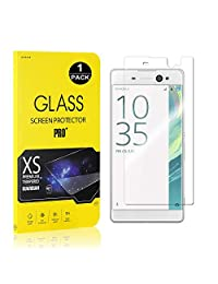 Sony Xperia XA Ultra Screen Protector, Bear Village® Tempered Glass Screen Protector [Lifetime Warranty], 9H Hardness Screen Protector Film for Sony Xperia XA Ultra - 1 PACK