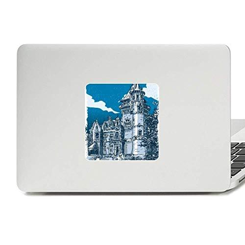 (Old Castle Medieval Knights of Europe Emblem Decal Vinyl Skin Laptop Sticker PC)