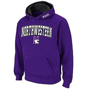 Mens NCAA Northwestern Wildcats Pull-over Hoodie (Team Color) - 2XL