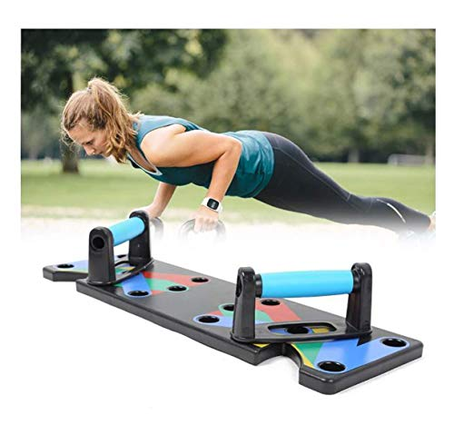 Serveuttam Plastic 9 in 1 Gym Work Out Body Building Exercise Push Up Board Stand Strong Bar, 1Pc(Back Color) Price & Reviews