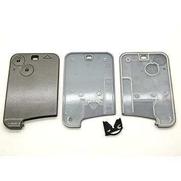 Carcasa de tarjeta mando a distancia para Renault Laguna Vel Satis Espace 2 botones sin hoja