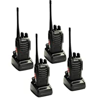 Nestling 4pcs Galwad-888S Walkie Talkie with Built in LED Torch (Pack of 4)