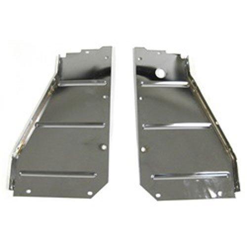 - Golden Star Auto CS13-57PC Radiator Support Pair Chrome Core Support Side Filler Panels Radiator Support