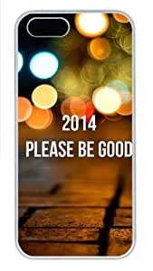 2014 Please Be Good Polycarbonate Plastic iPhone 6 4.7 and iPhone 6 4.7 Case Cover White