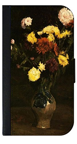 Vincent Van Gogh's Basket of Carnations and Zinnias Jack's Outlet Inc. Passport Cover Made in the U.S.A.