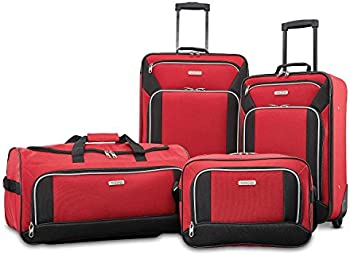 American Tourister Fieldbrook 4 Piece Luggage Set + $7.68 Rakuten Credit